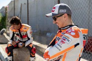 Jorge Lorenzo and Alex Crivillé