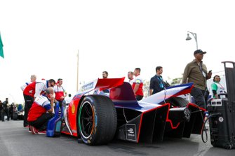 Car of Jérôme d'Ambrosio, Mahindra Racing