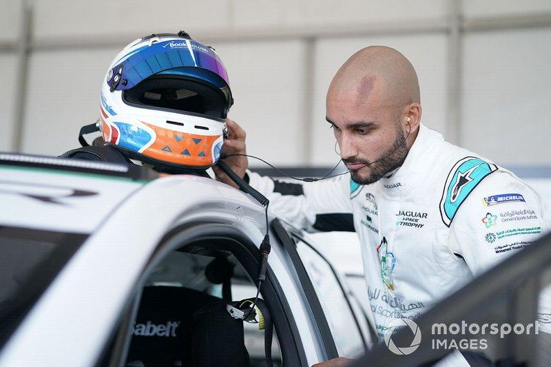 Fahad Algosaibi, Saudi Racing in the garage