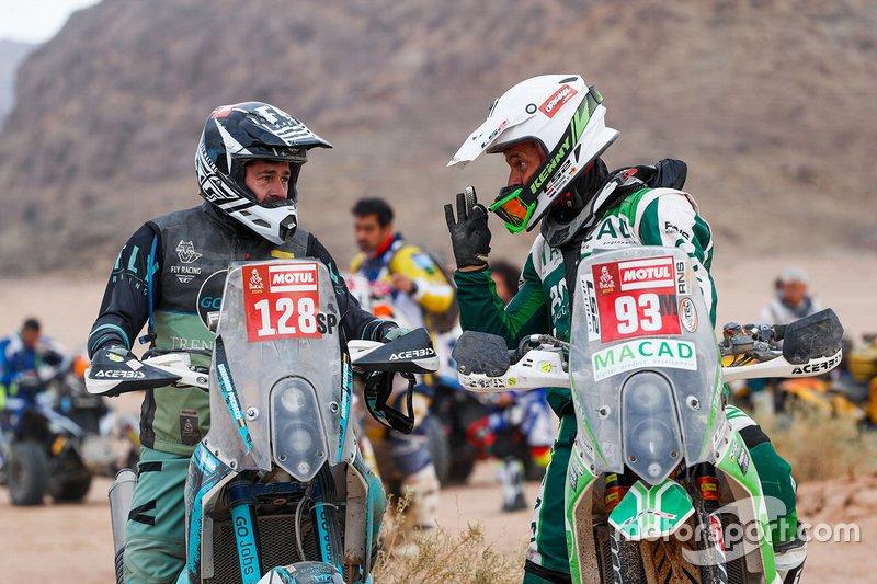 #128 KTM: Giordano Pacheco, #93 KTM: Guillaume Martens