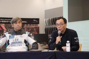 青木拓磨、津山覚チーム代表