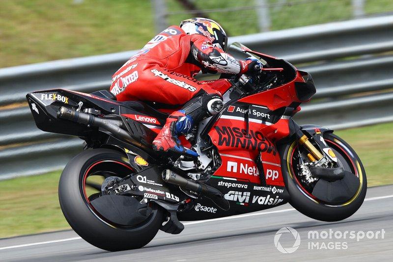 Ducati: cubrellantas delantero y trasero