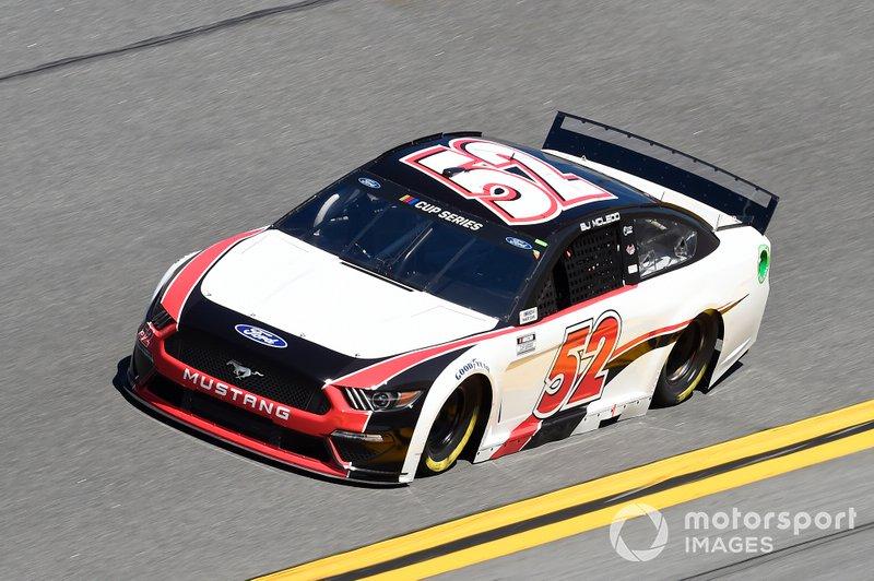 #52: B.J. McLeod, Rick Ware Racing, Ford Mustang