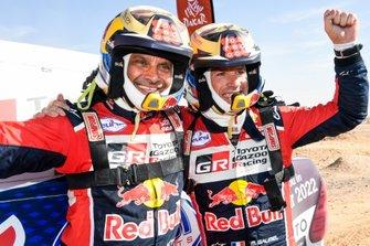 #300 Toyota Gazoo Racing: Nasser Al-Attiyah, Matthieu Baumel