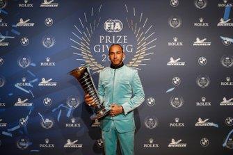 Lewis Hamilton, FIA Champion du monde de F1