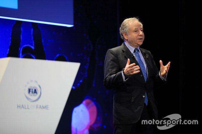 Além de apoiar as mudanças na F1 que devem ser introduzidas em 2021, Todt tem destacado seu trabalho também na tentativa de diminuição de acidentes rodoviários.