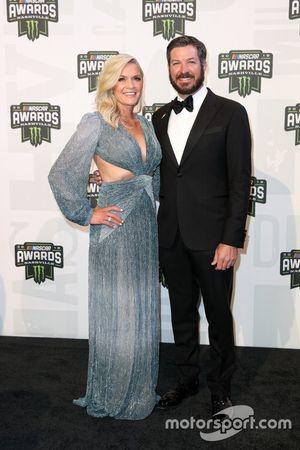 Martin Truex Jr. mit Freundin Sherry Pollex
