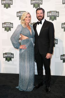 Martin Truex Jr. and his partner Sherry Pollex