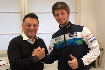Alessandro Zaccone and Fausto Gresini, Team Gresini