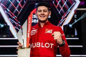 David Tonizza, Campione della F1 Esports Series 2019
