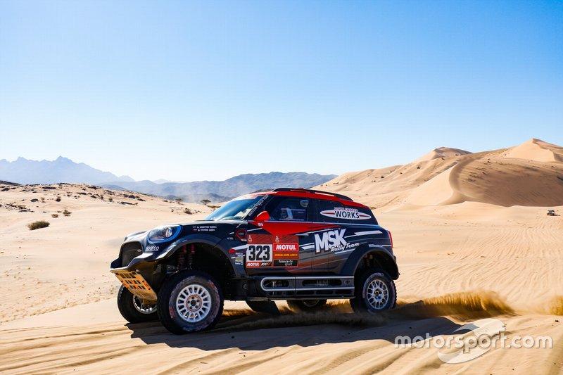 #323 MSK Rally Team Mini: Denis Krotov, Dmytro Tsyro