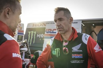 Ruben Faria, team manager, Monster Energy Honda