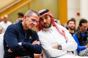 Abdulaziz bin Turki Al Saud, Yann le Moenner, director of ASO