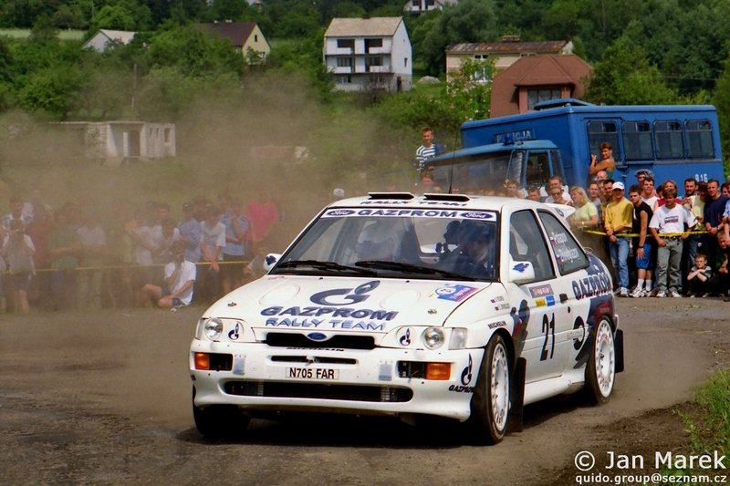 Aleksandr Potapov, Yevgeniy Zhivoglazov, Ford Escort RS Cosworth, Rajd Polski 1998