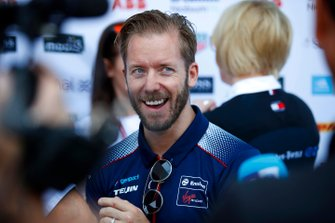 Sam Bird, Virgin Racing, parla alla stampa