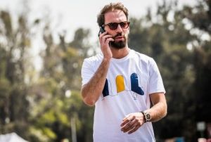 Jean-Eric Vergne, DS Techeetah arrives at the track