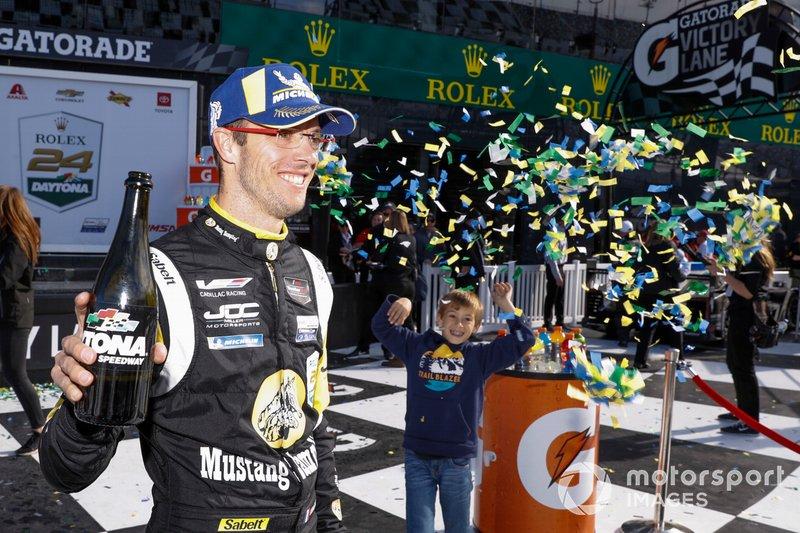 Third place #5 JDC-Miller MotorSports Cadillac DPi: Sébastien Bourdais