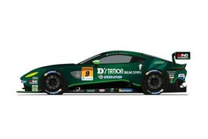 D'station Racing AMR Aston Martin Vantage GT3, livery