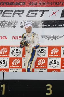 Podium: Race winner Nick Cassidy, Lexus Team TOM'S Lexus LC500