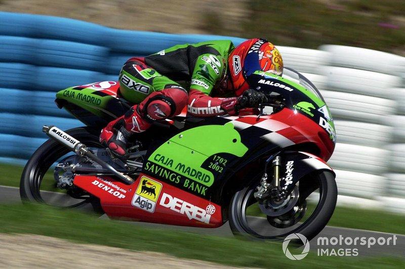Jorge Lorenzo, Caja Madrid Derbi Racing