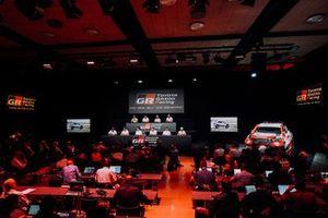 Toyota Gazoo Racing, Dakar press conference atmosphere