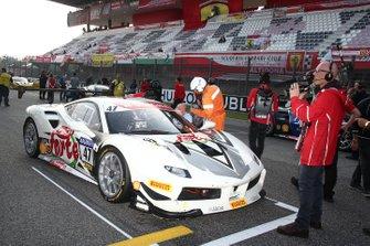 Grid: #47 Ferrari 488 Challenge, Ferrari Budapest: Adam Carroll