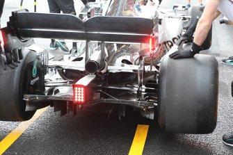 Mercedes F1 AMG W10 , rear detail