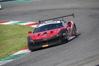 #56 Ferrari 488 Challenge, Scuderia Praha: Matus Vyboh