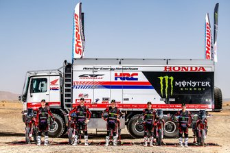 Monster Energy Honda Team Dakar 2020