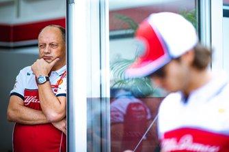 Frederic Vasseur, Alfa Romeo Racing