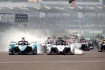 Start der Formel E 2019/20 in Mexico City: Mitch Evans, Jaguar Racing, Jaguar I-Type 4, Andre Lotterer, Porsche, Porsche 99x Electric