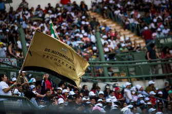 DS Techeetah fans in the grandstand