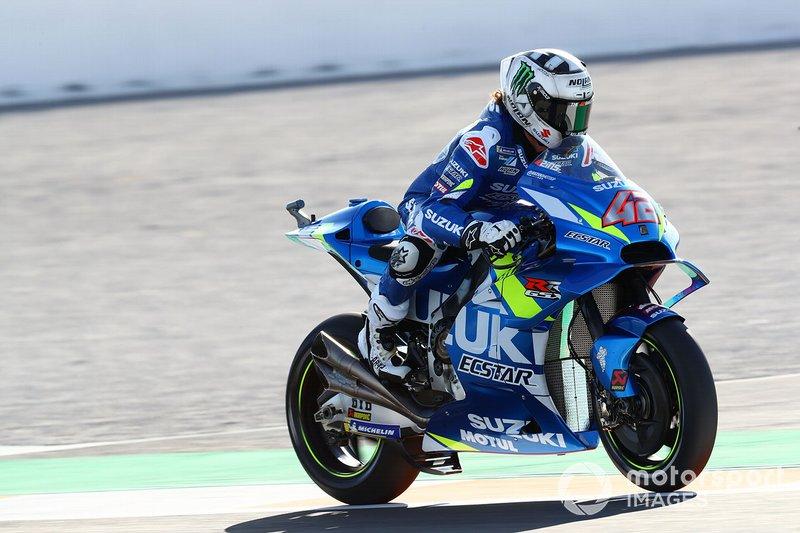 8 - Alex Rins, Team Suzuki MotoGP