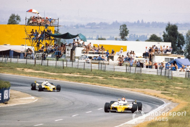Jean-Pierre Jabouille, Renault RE20, René Arnoux, Renault RE20