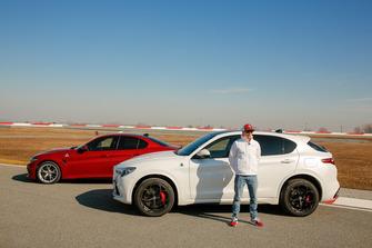 Antonio Giovinazzi, Alfa Romeo Racing e Kimi Raikkonen, Alfa Romeo Racing