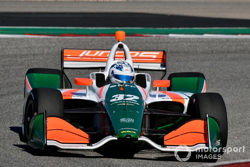 #32: Kyle Kaiser, Juncos Racing, Chevrolet *