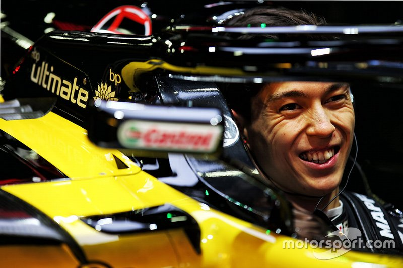 Jack Aitken, tester Renault F1 Team