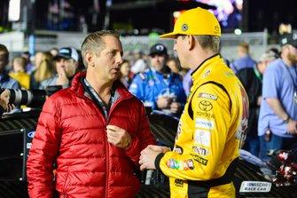 Kyle Busch, Joe Gibbs Racing, mit Greg Biffle