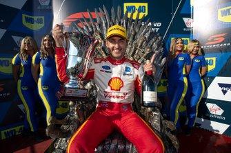 Podium: race winner Fabian Coulthard, DJR Team Penske