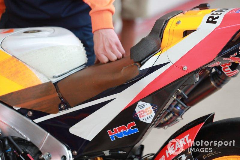 Jorge Lorenzo, Repsol Honda Team's Honda seat