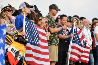 Fans at the Nicky Hayden Hill