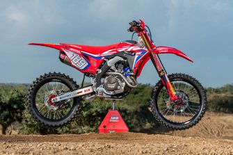 The Honda CRF450RW of Brian Bogers