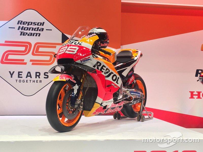 La moto de Jorge Lorenzo, Honda HRC
