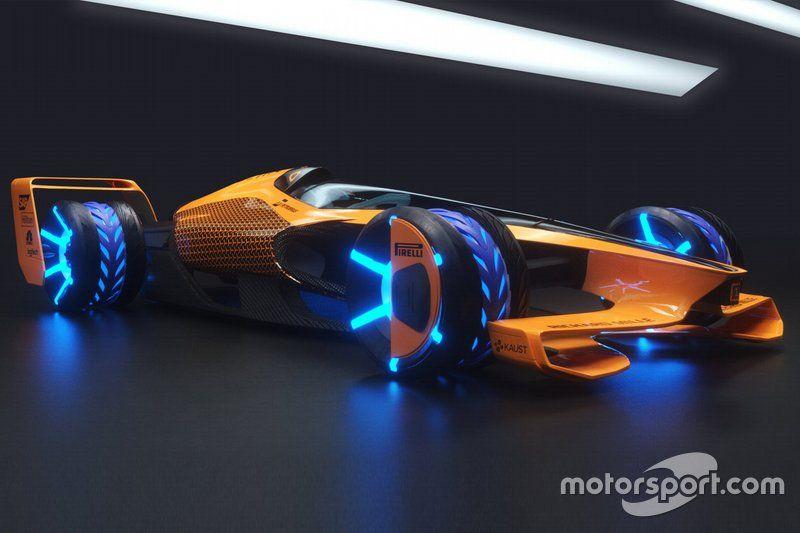 McLaren 2050 vision