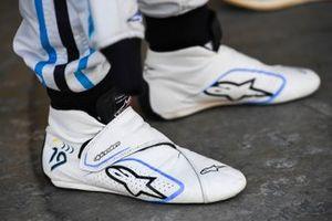 The boots of Felipe Massa, Venturi Formula E
