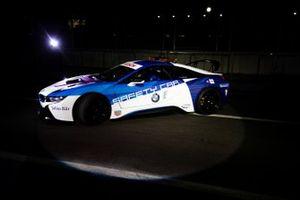 Qualcomm BMW i8 Safety car livery 2019 launch