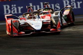 Pascal Wehrlein, Mahindra Racing, M5 Electro, Lucas Di Grassi, Audi Sport ABT Schaeffler, Audi e-tron FE05