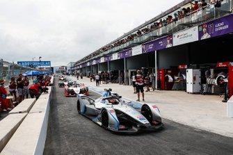 Edoardo Mortara, Venturi Formula E, Venturi VFE05, tras la bandera roja
