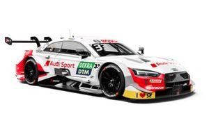 René Rast, Audi Sport Team Rosberg, Audi RS5 DTM renk düzeni