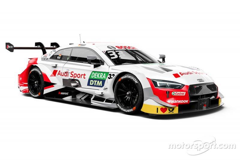 Автомобиль Audi RS5 DTM Рене Раста